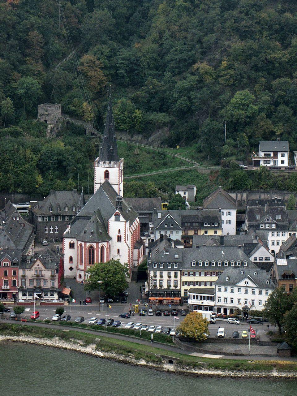 StGoarStiftskirche | Immobilienmkler St. Goarshausen